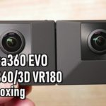 3DVR動画が撮影できるInsta360 EVOの開封とスマホアプリとのペアリングの件